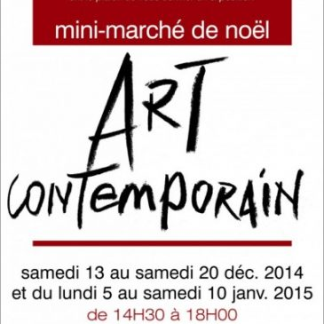 Mini marché d'Art contemporain à Paris