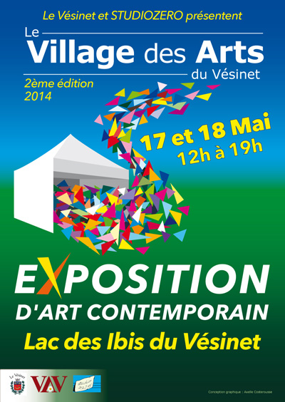 Village des arts Exposition Franck Guidolin