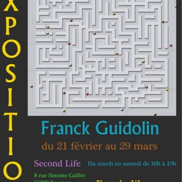Exposition Franck Guidolin à Epernay