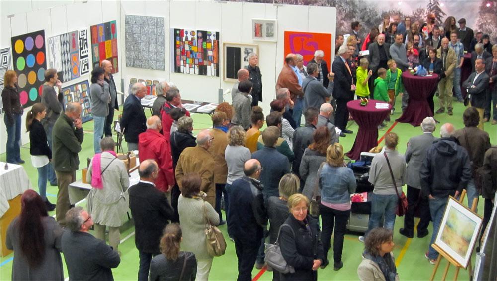 Etalle 2014 Exposition Franck Guidolin Artiste plasticien