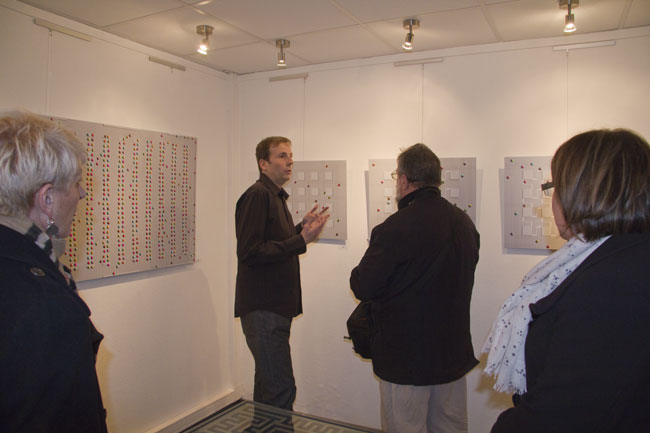 Vernissage Mirand 1 Exposition Franck Guidolin