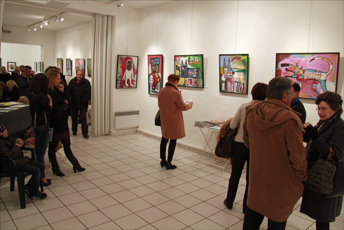Exposition Franck Guidolin
