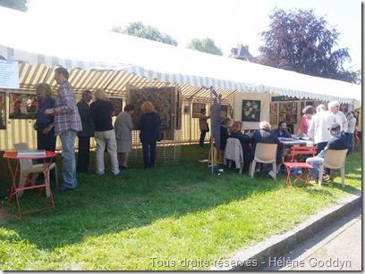 La tente L'œil Neuf et ses 9 artistes
