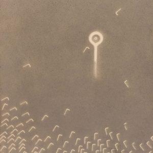 Vivo : Peloton - La grande boucle : Colorant projeté sur papier - (65x50) -  Quadryptique unique 3/4 - 2007