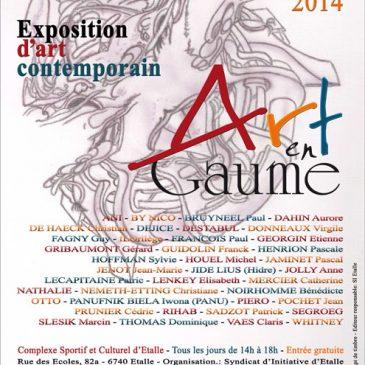 Exposition » Art en Gaume 2014 «
