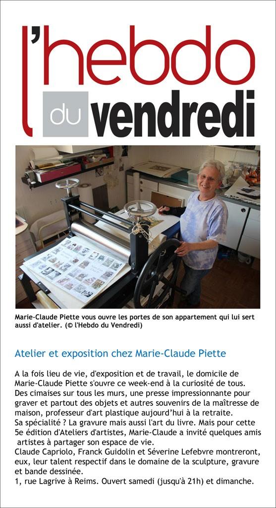 M-C Piette Hebdo vendredi