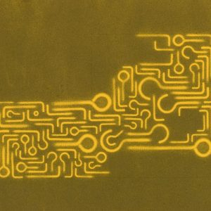 Pitongrammes n°75 - 360° - Colorant sur papier - (30x40) - Œuvre unique - 2009