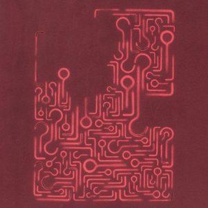 Pitongrammes n°79 - 360° - Colorant sur papier - (50x40) - Œuvre unique - 2009