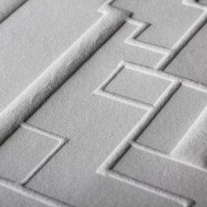 Gaufrage - Bloc 5 - Tiré à 30 exemplaires - 2012