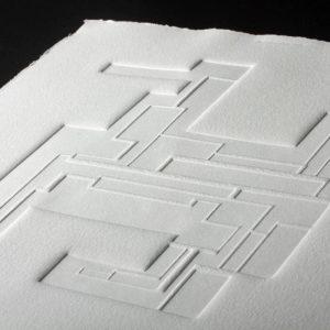 Gaufrage - Bloc 7 - Tiré à 30 exemplaires - 2012