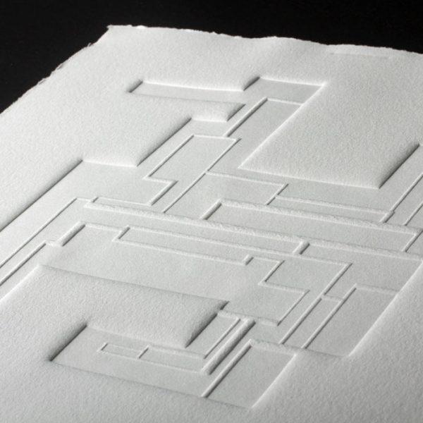 Gaufrage - Bloc 7 - Tiré à 30 exemplaires