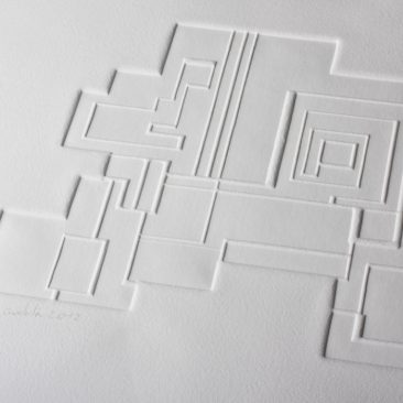 Guidolin Gaufrage papier art
