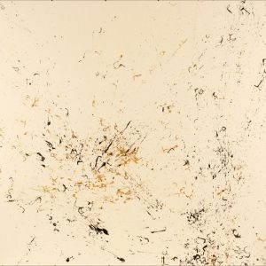 Pitongrammes n°55 - Chaos - Colorant sur Carton bois - (100x140) - Œuvre unique - 2007