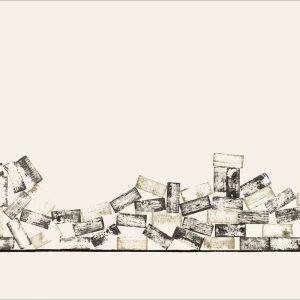 J'ai connu pire 2 - Colorant sur carton bois - (80x120) - Unique - 2008