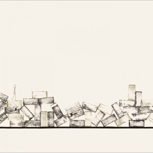 J'ai connu pire 3 - Colorant sur carton bois - (80x120) - Unique - 2008