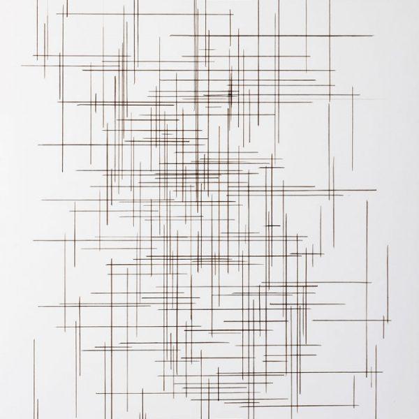 Encre et plume sur papier canson - (50x65) - Œuvre unique