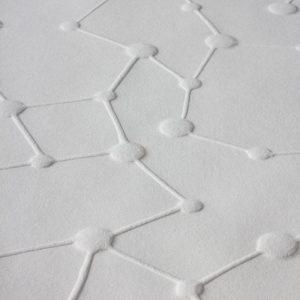 Gaufrage - Molécule 2 - Tiré à 30 exemplaires - 2012