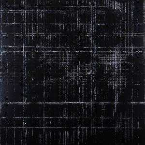 Résidu noir 2 - Acrylique sur carton bois - (80x80) - Unique - 2012