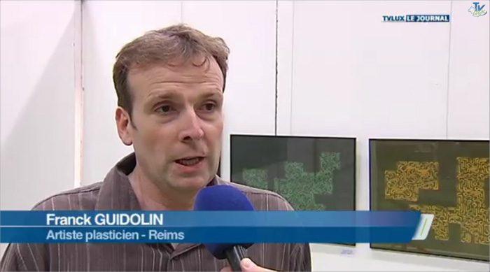 Exposition Franck Guidolin Artiste plasticien
