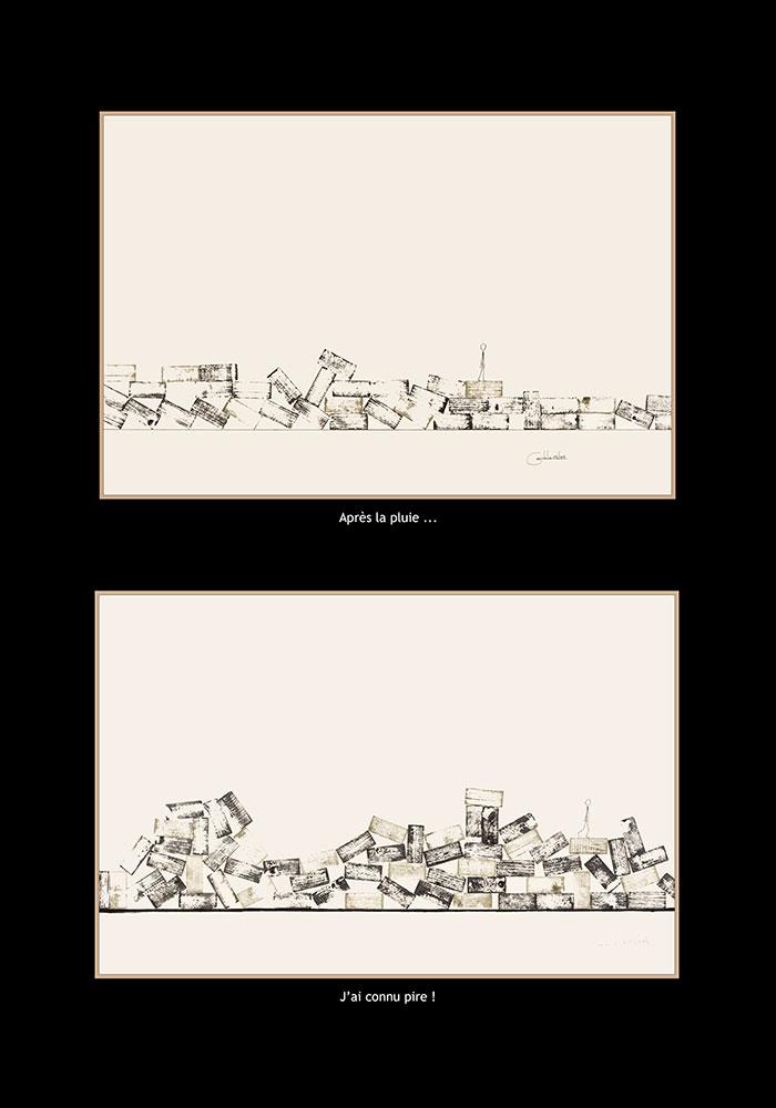 2 tableaux de Dromo man