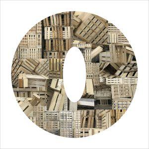 Découpage - Artmeta - Estampe numérique - 40x40 - 2009