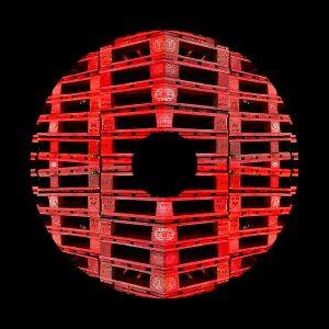 Plaquage - Artmeta - Estampe numérique - 40x40 - 2009