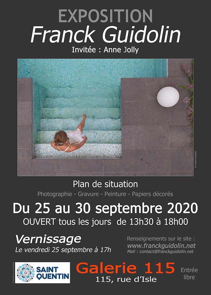 Franck Guidolin Galerie 115